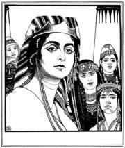 Motiv der Bibelwoche 2013: Ephraim Moses Lilien (1874–1925), erschienen in »Die Bücher der Bibel«, Berlin/Wien 1923