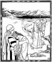 Motiv der Bibelwoche 2006: Illustration zum Buch Ruth von Ephraim Moses Lilien (1874–1925)