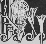 Motiv der Bibelwoche 2007: Illustration zu Psalm 42 von Ephraim Moses Lilien (1874–1925)