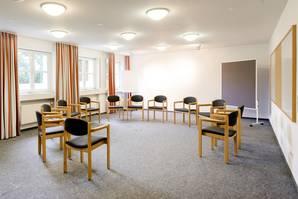 Konferenzraum in Haus Ohrbeck, ideal für Seminare, Workshops, Meetings, Sitzungen im Raum Osnabrück, Emsland, Oldenburg